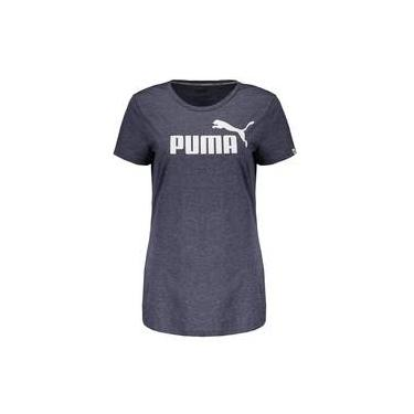 Camiseta Puma Essential N°1 Heather Feminina 9942d3ec84ffb