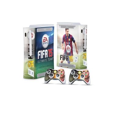 Skin Adesivo para Xbox 360 Fat Arcade - Fifa 15