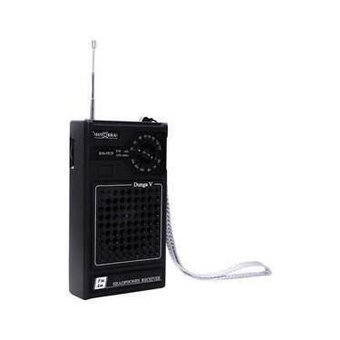 Radio Portatil Motobras Am/Fm Entrada Para Fone de Ouvido