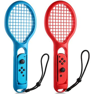 Raquete de tênis para Nintendo Switch Joy-Con Controller Hafei Twin Pack Raquete de tênis para Nintendo Switch Jogo Mario Tennis Aces
