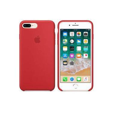 8dec82a46fc80 Capa e Película para Celular Iphone 8 Plus Silicone   Celulares e ...