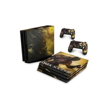 Skin Adesivo para PS4 Pro - Dark Souls 3
