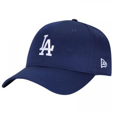 Boné Aba Curva New Era 940 Los Angeles Dodgers - Snapback - Adulto New Era Unissex