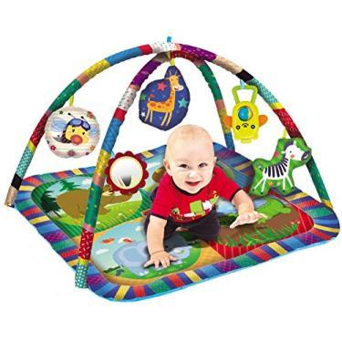 Imagem de Tapete Centro de Atividades Infantil Menino Menina Desenvolve Coordenação Motora Modelo ZP00179 Original Zoop Toys