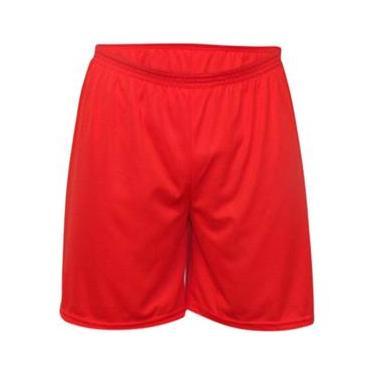 Calção Futebol Kanga Sport - Calção Vermelho - nº14