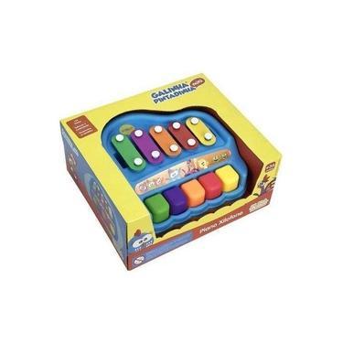 Imagem de Brinquedo Galinha Pintadinha Piano Xilofone Yes Toys