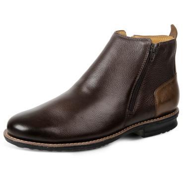 Bota Dress Boot Sandro Moscoloni Floater Good Marrom  masculino