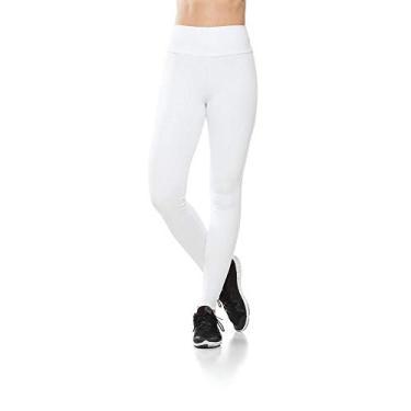 Imagem de Calça Legging Fitness Basic Confort - Branca Calça Leggings Fitness Basic Confort - Branca - P
