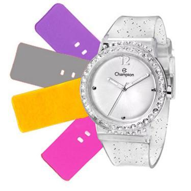 44435b6f84b Relógio Feminino Champion Troca Pulseiras CP28275S   12699