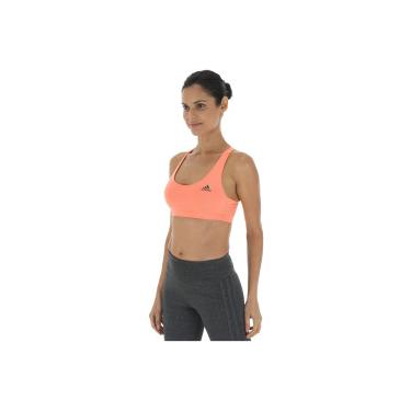 9a0e54e76 Top Fitness adidas Ess Clima - Adulto - Coral Preto adidas