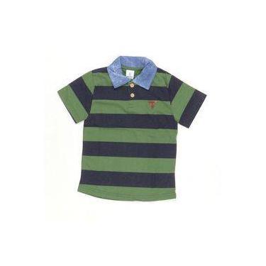 Camisa Polo Esporte Fino Verde Musgo - Costão