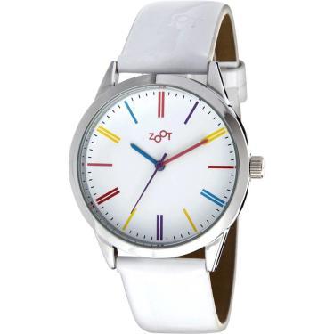 483437c8109 Relógio Casual Zoot Rainbow Branco ZW10061-B feminino