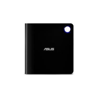 Drive Asus Gravador Externo CD/DVD/Blu-Ray, Leitor CD/DVD/Blu-Ray, Ultra-Sim, Windows e Mac - SBW-06D5H-U