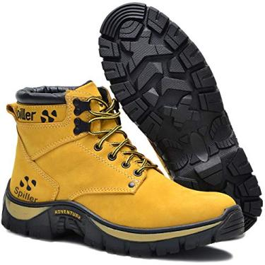 Bota Adventure Coturno Triton Spiller - Amarelo Tamanho:37