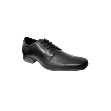 Sapato Masculino Napa Confort West Coast Preto 188603-1