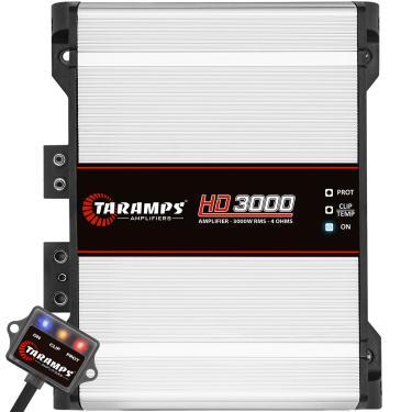 Módulo Taramps Hd 3000 3000w Amplificador Automotivo Módulo Taramps Hd 3000 3000w 4 Ohms Amplificador Automotivo