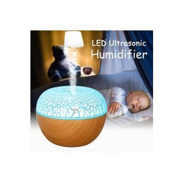 Umidificador de aroma ultrassônico usb LED essencial Óleo Difusor purificador de aromaterapia