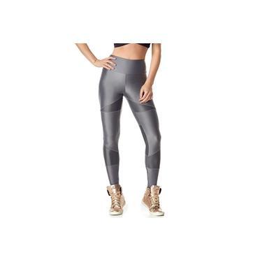 Legging Fusô 513 Customize Cinza Gris Vestem Tamanho M