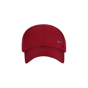 Boné Aba Curva Nike Sportswear H86 Metal Swoosh - Strapback - Adulto -  VINHO Nike 21ed41fb3cb