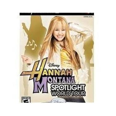 Jogo Da Disney Hannah Montana Spotlight World Tour Para Ps2