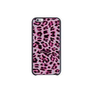 Capa Intelimix Couro Cinza Apple iPhone 6 Animal Print - TX69