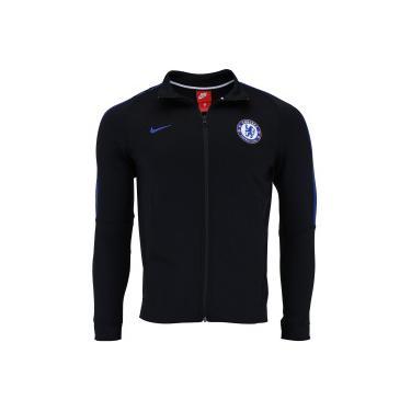 a7aa054659f94 Jaqueta Chelsea Authentic Nike - Masculina - PRETO Nike