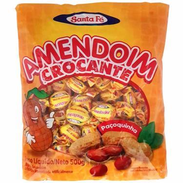 Bala Amendoim Crocante 500g Santa Fé 10594