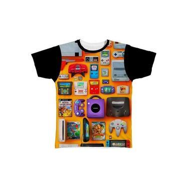 Camiseta Camisa Playstation X Box Controle Jogos Jogo Game15