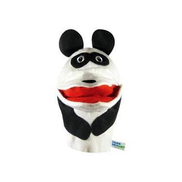 Fantoche - Animais Selvagens - Panda - Papo de Pano