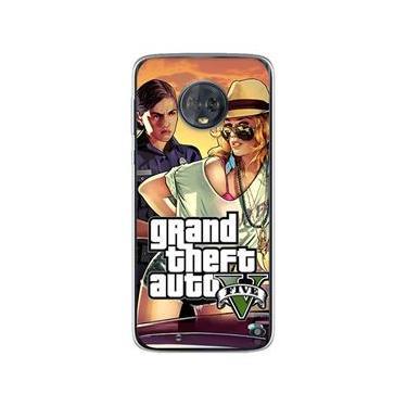 Capa para Moto G6 Play - GTA V | Modelo 4