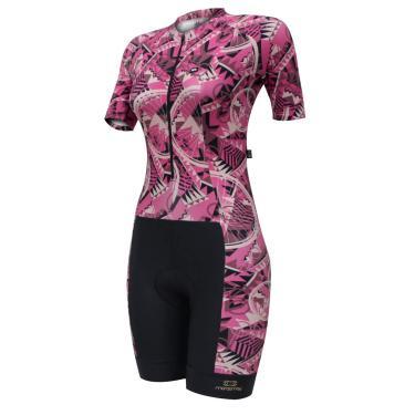 MacAquinho De Ciclismo Feminino Slim Fit Bike Cherry