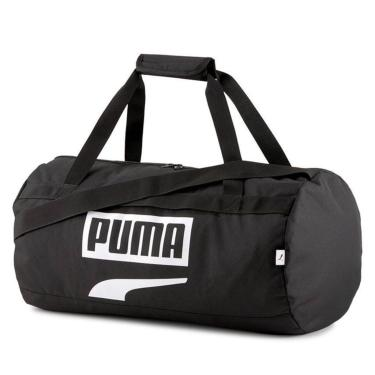 Bolsa Puma Plus Sports Bag II Preto  unissex