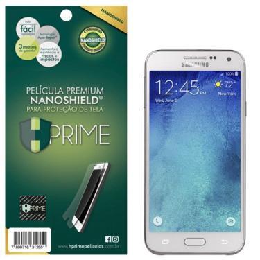 Pelicula HPrime NanoShield para Samsung Galaxy E5, Hprime, Película Protetora de Tela para Celular, Transparente