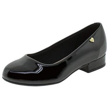 Sapato Infantil Meninas Molekinha Original Salto Baixo Novo