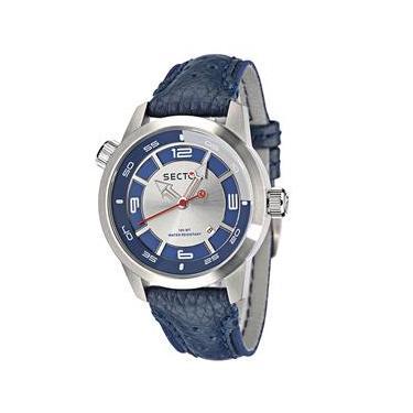 bac621f4d86 Relógio Masculino Analógico Sector WS20118A - Azul