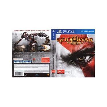 Estojo Com Capa God Of War 3 Remaster Ps4