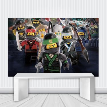 Painel De Festa Infantil Ninjago Lego 2.00M X 1.40M