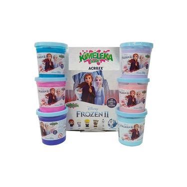 Imagem de Kimeleka Slime Frozen 2 - Caixa Com 6 Potes 180g - Acrilex
