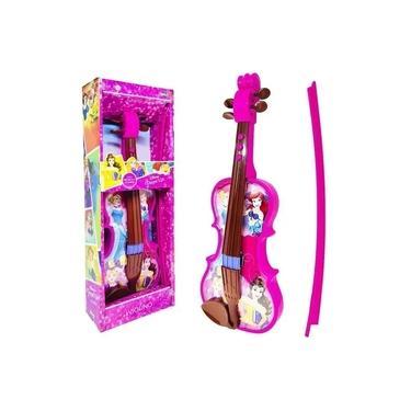 Imagem de Violino Musical Princesas Disney Rosa Toyng