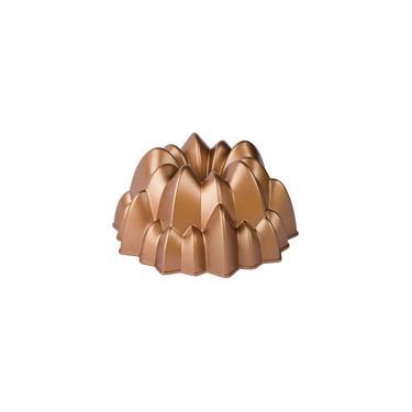 Imagem de Forma para bolo em alumínio Marissa Lounina Cascade 24x10cm cobre