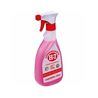 Desengraxante H-7 - 500ml - Removedor Multiuso para Limpeza Pesada - H7