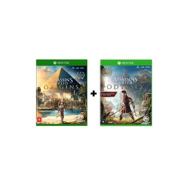 Combo Assassins Creed Origins + Assassins Creed Odyssey - Xbox One