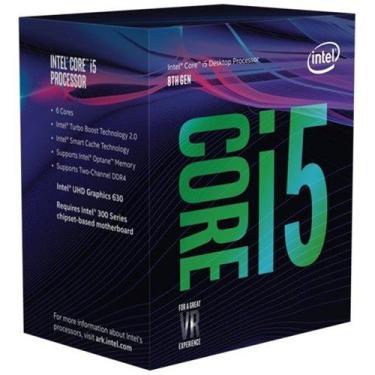 Processador Intel i5-8600K Coffee Lake Six-Core 3.6 GHz Desktop prata-BX80684I58600K