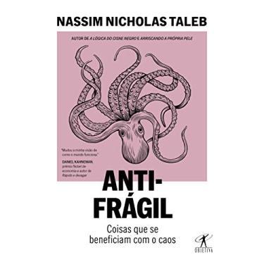 Imagem de Antifrágil (Nova edição): Coisas que se beneficiam com o caos