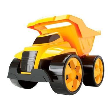 Imagem de Mini Caminhão Infantil Construção 2 Em 1 - Brinquedos Cardoso