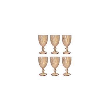 Imagem de Conjunto 6 Taças De Vidro Ambar 345ml Bon Gourmet