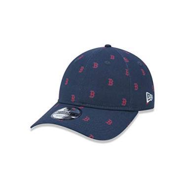 BONE 9TWENTY BOSTON RED SOX MLB ABA CURVA STRAPBACK MARINHO NEW ERA