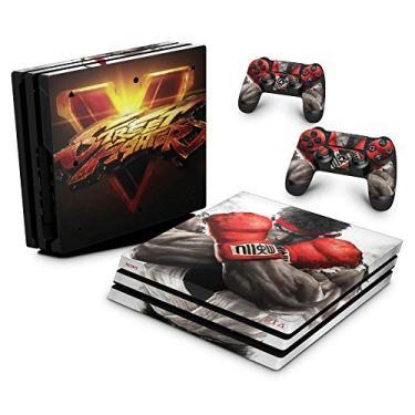 Skin Adesivo para PS4 Pro - Street Fighter V