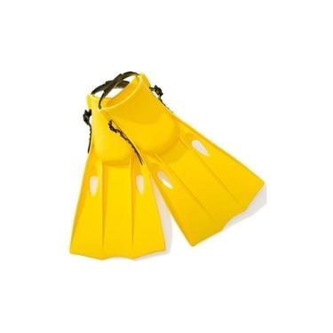 Equipamentos Natação - Mergulho Nadadeira Media Intex