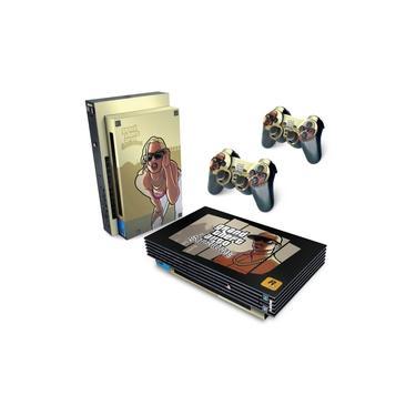 Skin Adesivo para PS2 Fat - GTA San Andreas